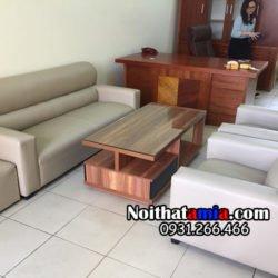 bộ bàn ghế sofa phòng làm việc giá rẻ