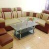 Hình ảnh Mẫu ghế sofa da góc đẹp giá rẻ kê phòng khách hiện đại