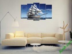 Tranh thuận buồm xuôi gió đẹp ý nghĩa