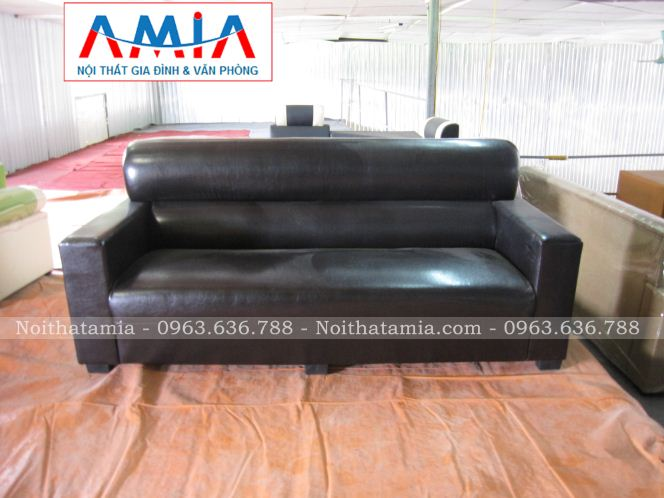 Ghe sofa vang danh cho phong khach dep AmiA SFV 088