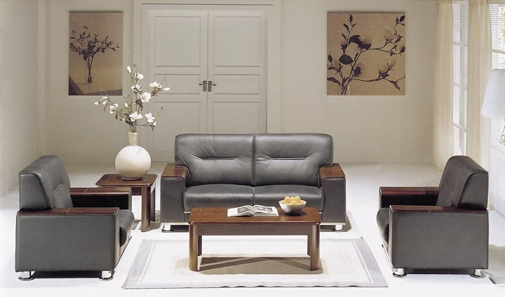 sofa da danh cho van phong