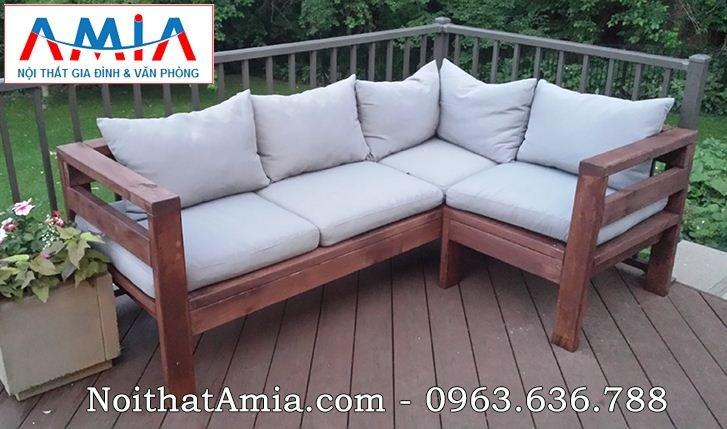 Hinh anh 10 mau ghe sofa go handmade bo goc chu L dep an tuong