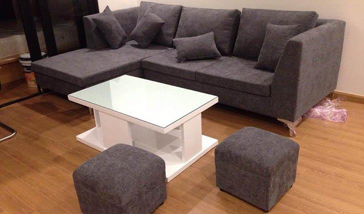 Hình ảnh cho mẫu sofa phòng khách nhỏ được làm theo yêu cầu