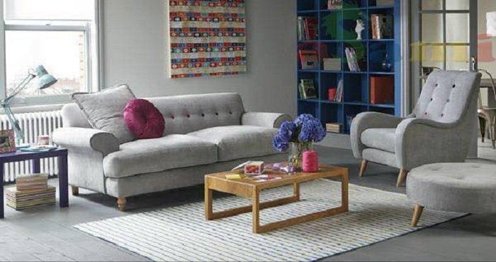 Hình ảnh cho mẫu sofa nhỏ xinh đẹp cho không gian phòng khách gia đình