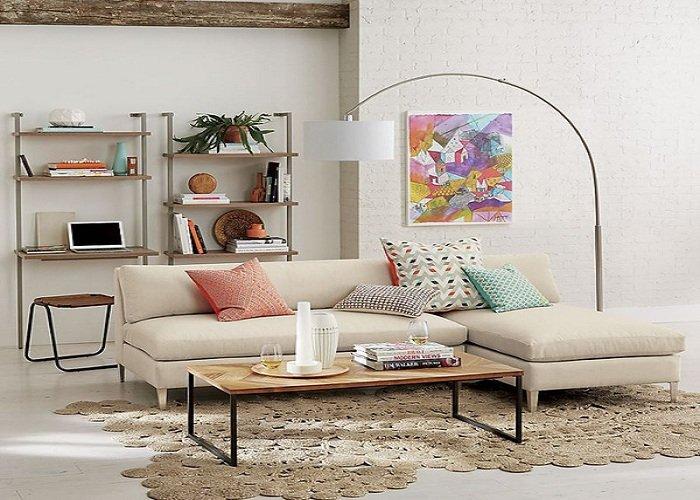 Hình ảnh sofa phòng khách nhỏ xinh cho không gian căn phòng đẹp hiện đại