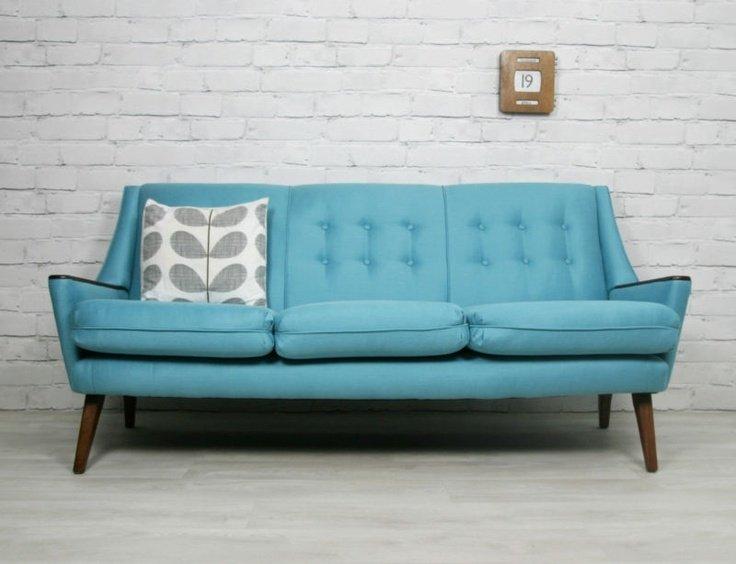 Hình ảnh cho ghế sofa phòng khách nhỏ với thiết kế dạng văng mini