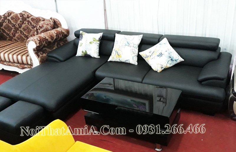 Sofa AmiA da màu đen mẫu gốc tại AmiA