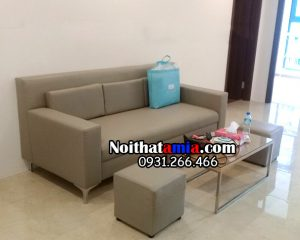 hình ảnh ghế sofa văng 2m cho phòng khách nhỏ