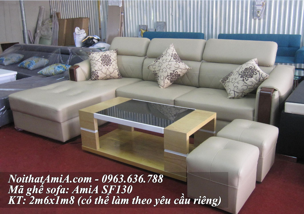 Mua ghe sofa da ma 130 tai kho so 1 ngo 300 nguyen xien Ha Noi