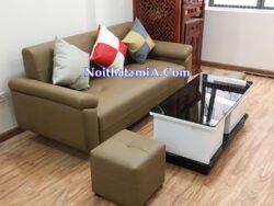 Bàn ghế sofa văng đẹp cỡ nhỏ SF113
