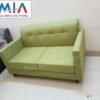 Hình ảnh bộ ghế sofa văng đẹp 2 chỗ AmiA SFN117 với kích thước nhỏ xinh