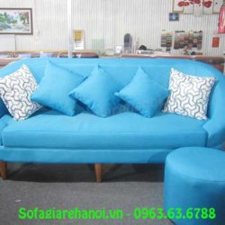 Hình ảnh mẫu ghế sofa văng nỉ 1m8 đẹp hiện đại và ấn tượng tại Tổng kho Nội thất AmiA