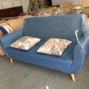 Hình ảnh mẫu ghế sofa nỉ văng đẹp cho không gian căn phòng khách nhỏ đẹp hiện đại