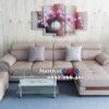 Hình ảnh Mẫu ghế sofa đẹp da chữ L cho căn phòng khách đẹp