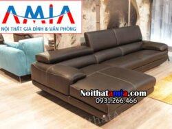 hình ảnh ghế sofa góc chữ L màu đen