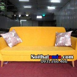 Kiểu sofa mini cho chung cư nhỏ văng 2 chỗ