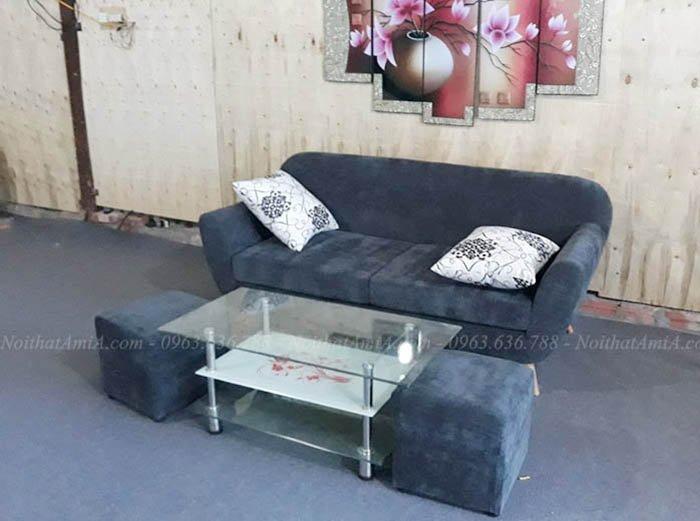 Hình ảnh Sofa văng đẹp nhỏ xinh cho phòng khách nhỏ gia đình