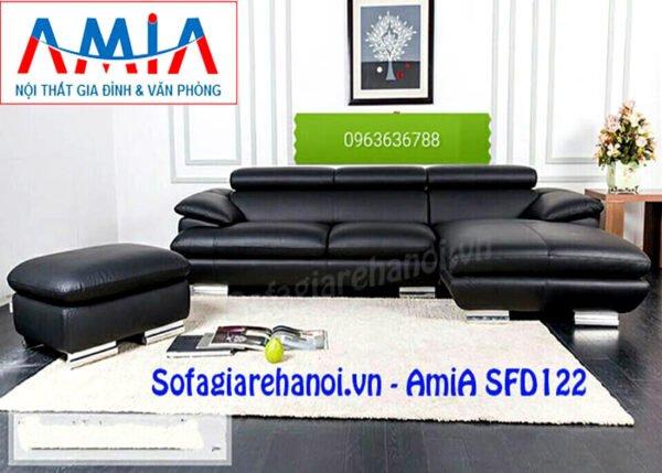 hình ảnh mẫu sofa góc chữ L phòng khách giá rẻ