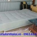 Hình ảnh ghế sofa giường khi được duỗi ra thành chiếc giường xinh xắn