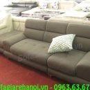 Hình ảnh mmẫu ghế sofa văng da đẹp tại Tổng kho Nội thất AmiA