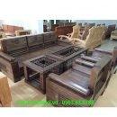 Hình ảnh bộ bàn ghế gỗ phòng khách gia đình đẹp hiện đại và sang trọng