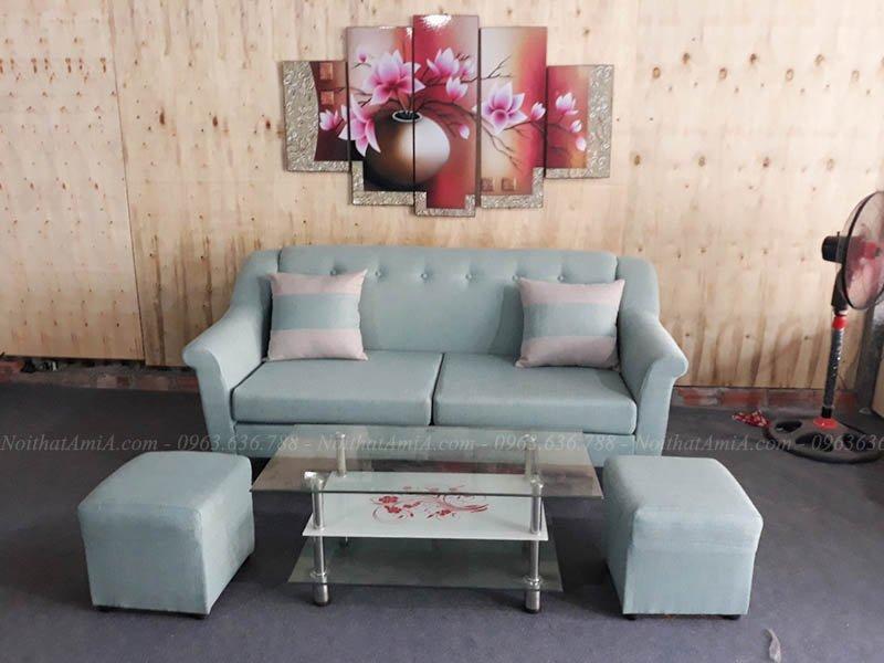 Hình ảnh Bộ ghế sofa nhỏ mini đẹp hiện đại cho nhà nhỏ xinh