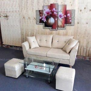 Mẫu ghế sofa nhỏ gọn dạng văng kích thước nhỏ