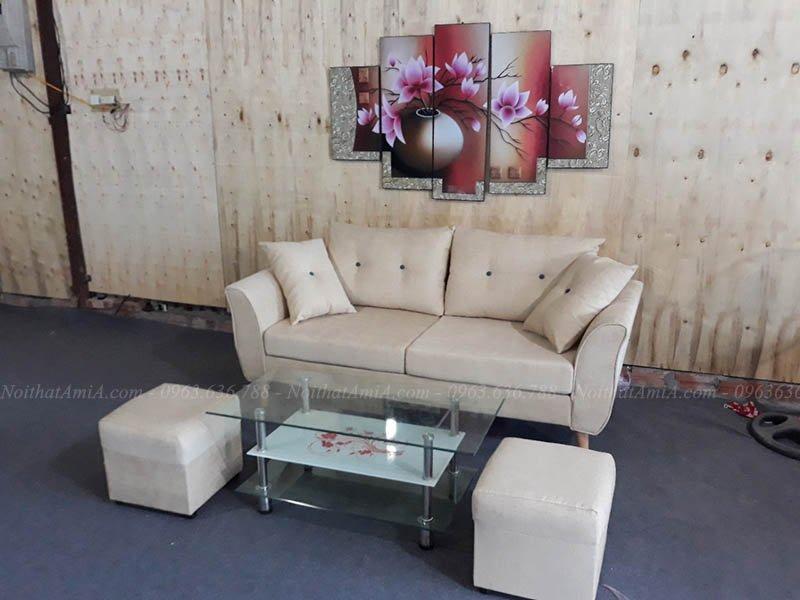 Hình ảnh Mẫu ghế sofa nhỏ gọn dạng văng kích thước nhỏ