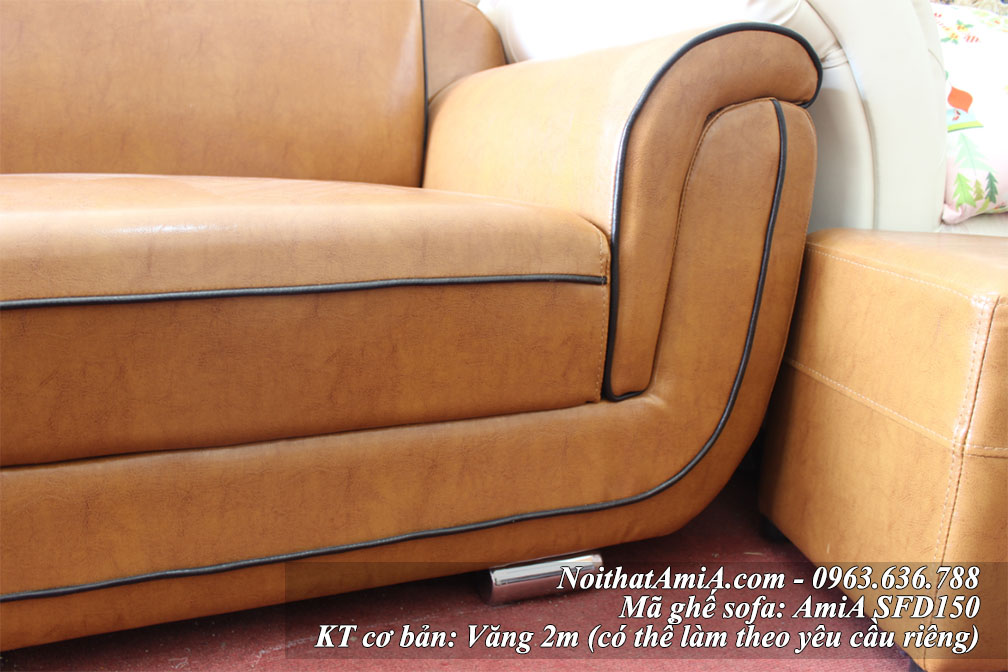 Than ghe sofa da dep vang ma 150