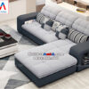 Hình ảnh Ghế sofa nỉ chữ L đẹp hiện đại cho không gian căn phòng khách đẹp