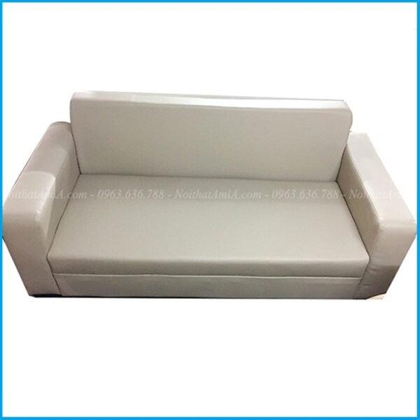 Mẫu ghế sofa văng da nhỏ mini dài khoảng 2m