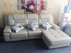 Hình ảnh Ghế sofa da phòng khách đẹp hiện đại mới nhất tại AmiA