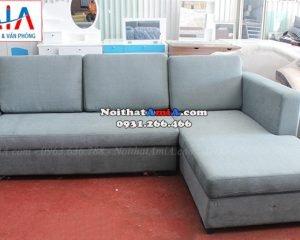 Hình ảnh Ghế sofa nỉ chữ L kích thước nhỏ xinh cho căn phòng nhỏ