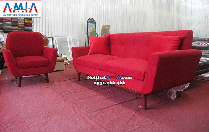 Hình ảnh Ghế sofa nhỏ xinh kết hợp ghế sofa văng đẹp hiện đại