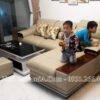 Sofa hiện đại ở phòng khách chung cư AmiA 179