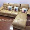 Sofa da góc chữ L hiện đại AmiA 179
