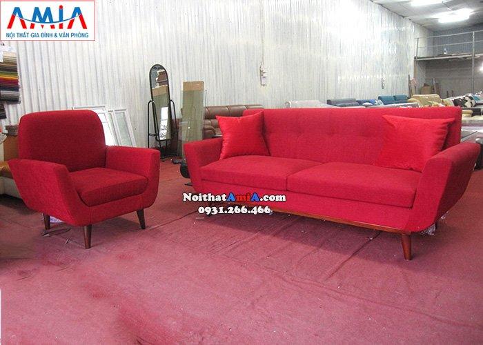 Hình ảnh Sofa đơn kết hợp ghế sofa văng đẹp hiện đại
