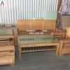 Hình ảnh Bộ bàn ghế gỗ sofa phòng khách đẹp hiện đại tại Hà Nội