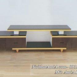 Hình ảnh mẫu kệ đựng tivi cho nhà chung cư hiện đại AmiA HQNK 27