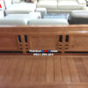 Hình ảnh Ghế sofa gỗ phòng khách hình chữ L đẹp hiện đại