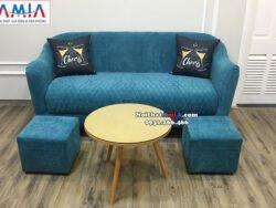 Hình ảnh Ghế sofa văng đẹp cho phòng khách nhỏ nhà phố, nhà chung cư