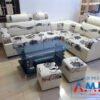 Sofa Amia 133 giá rẻ từ 2 triệu đồng da pha nỉ