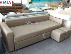 Hình ảnh Ghế sofa giường đa năng thông mình thiết kế dạng ghế sofa văng dài