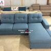 Hình ảnh Ghế sofa nỉ hiện đại cho phòng khách nhỏ hẹp nhà phố, nhà chung cư