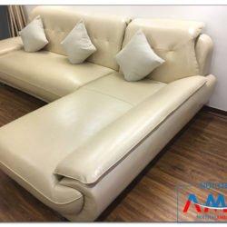 Ghế sofa da AmiA SF196 cho phòng khách đẹp