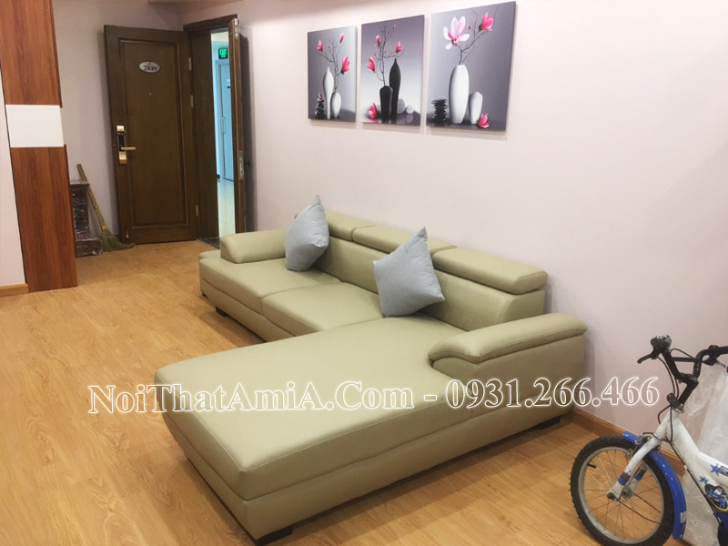 Sofa phòng khách chung cư hiện đại AmiA SF093
