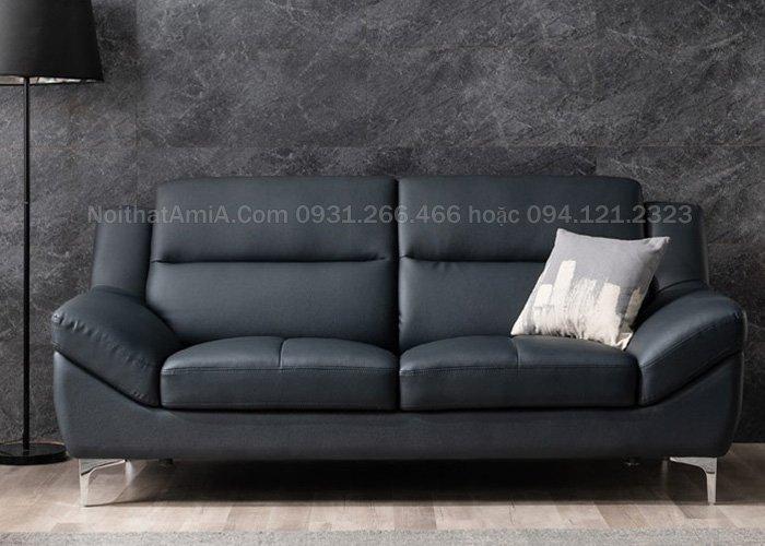hình ảnh mẫu sofa văng da mang nét đẹp quý phái SFD210