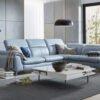 Hình ảnh mẫu sofa da góc chữ L sang trọng bán chạy SFD209