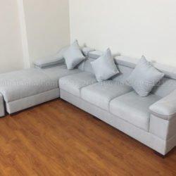 Ghế sofa góc nỉ đẹp hiện đại SFN206 chụp nghiêng