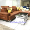 Ghế sofa da góc chữ L SFD222 chất da xịn
